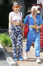 BELLA THORNE and Mod Sun Out for Lunch in Studi City 10/19/2017