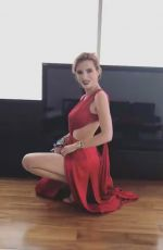 BELLA THORNE - Behind the Secenes of a Photoshoot, Instagram Pictures
