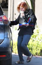 BELLA THORNE Leaves Rejuvenate Medical Spa in Encino 10/12/2017