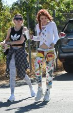 BELLA THORNE Out and About in Los Angeles 10/06/2017
