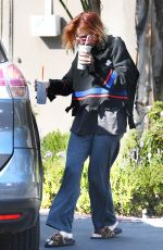 BELLA THORNE Out for Coffee in Los Angeles 10/12/2017