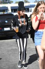 BELLA THORNE Out in Los Angeles 10/07/2017