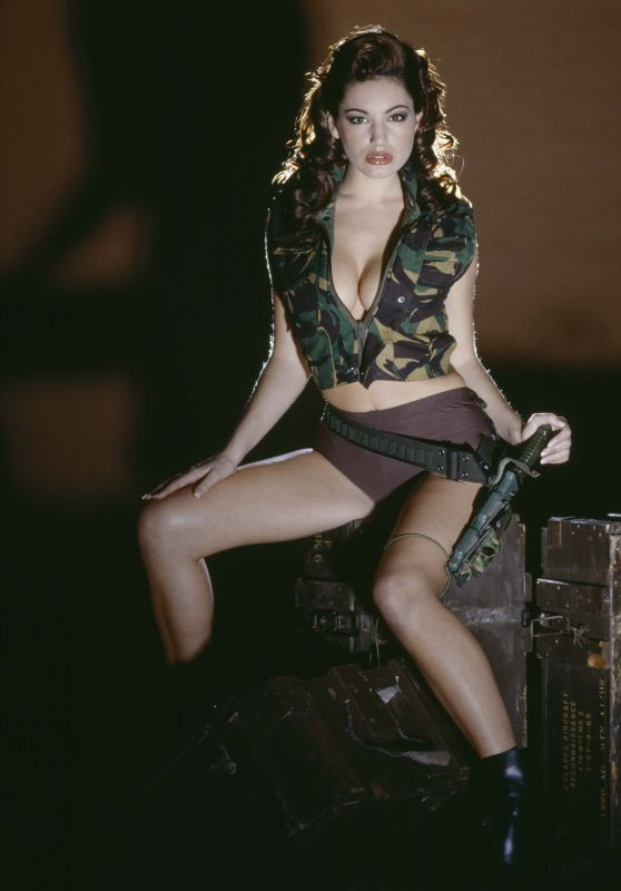 Best from the Past - KELLY BROOK by John Stoddard, Army Photoshoot 1998