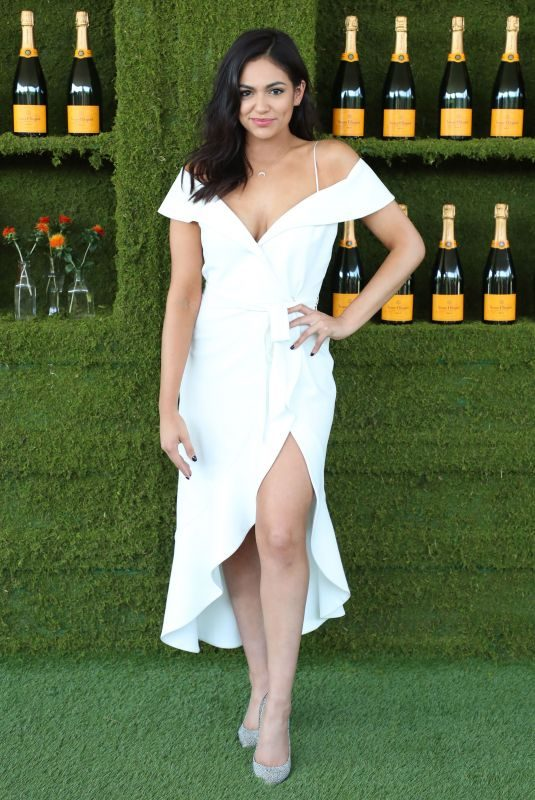BETHANY MOTA at 8th Annual Veuve Clicquot Polo Classic in Los Angeles 10/14/2017