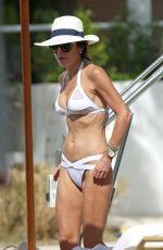 BETHENNY FRANKEL in Bikini at a Beach in Miami 10/09/2017