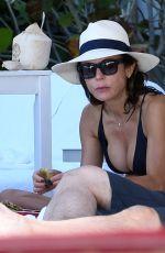BETHENNY FRANKEL in Bikini at a Pool in Miami 10/08/2017