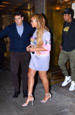 BEYONCE KNOWLESS Night Out in New York 10/03/2017