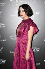 BILLIE JD PORTER at Veuve Clicquot Widow Series VIP Launch Party in London 10/19/2017