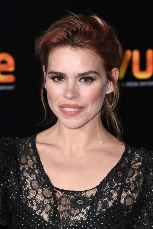 BILLIE PIPER at Showcase of Big Screen Events in London 10/23/2017