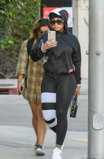 BLAC CHYNA Out and About in Los Angeles 10/17/2017