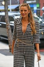 BLAKE LIVELY Arrives at Her Hotel in New York 10/16/2017