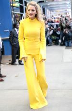 BLAKE LIVELY at Good Morning America in New York 10/16/2017