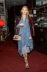 BLAKE LIVELY Leaves All I See Is You Special Event in New York 10/16/2017