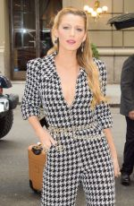 BLAKE LIVELY Leaves Her Hotel in New York 10/16/2017