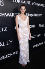 BREGJE HEINEN at Gabrielle's Angel Foundation's Angel Ball 2017 in New York 10/23/2017