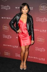 BRESHA WEBB at People's Ones to Watch Party in Los Angeles 10/04/2017