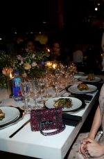 BRIE LARSON at V Magazine Dinner in Honor of Karl Lagerfeld in New York 10/23/2017