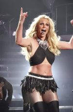 BRITNEY SPEARS Performs at Planet Hollywood in Las Vegas 10/11/2017