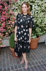 BRITTANY SNOW at Cfda/Vogue Fashion Fund Show and Tea in Los Angeles 10/25/2017