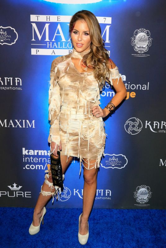BRITTNEY PALMER at 2017 Maxim Halloween Party in Los Angeles 10/21/2017