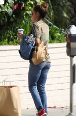 BROOKE BURKE Out and About in Los Angeles 10/12/2017