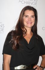 BROOKE SHIELDS at Skin Cancer Foundation