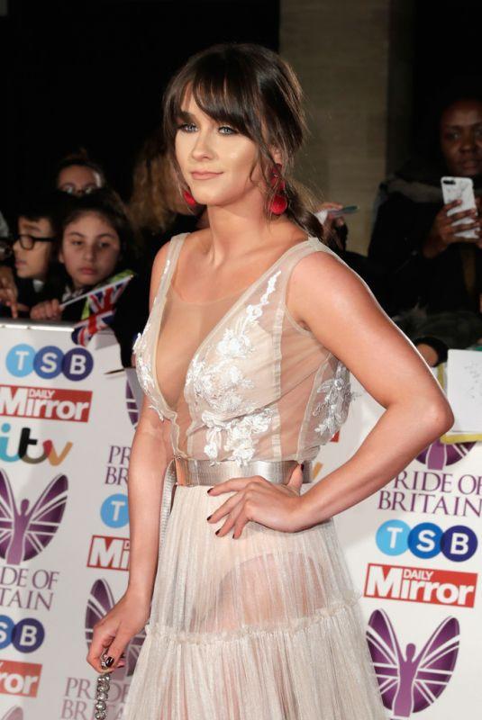 BROOKE VINCENT at Pride of Britain Awards 2017 in London 10/30/2017