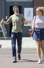 BUSY PHILIPPS Out for Smart Water in Los Angeles 10/11/2017