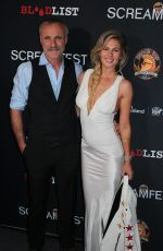 CAITLIN MANLEY at Tragedy Girls Premiere at Screamfest Horror Film Festival in Los Angeles 10/15/2017
