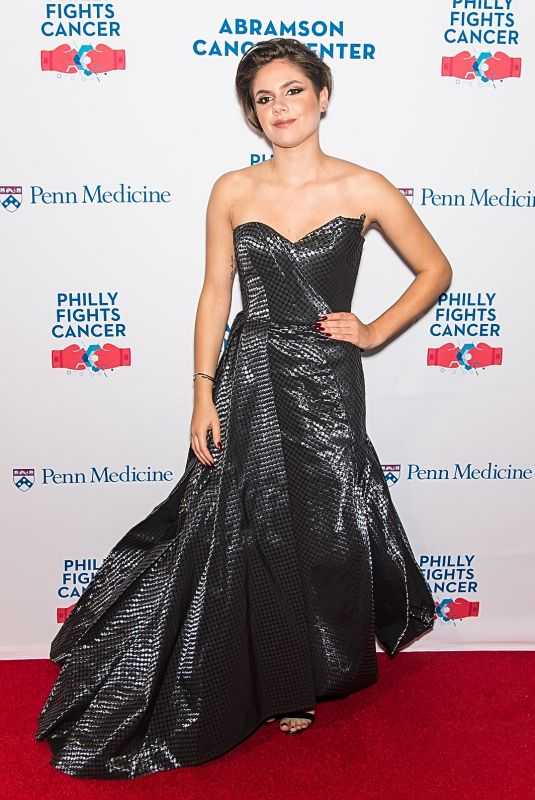 CALYSTA BEVIER at Philly Fights Cancer: Round 3 in Philadelphia 10/28/2017