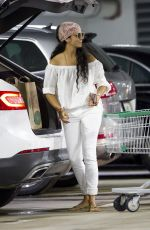 CAMILA ALVES Out Shopping in Miami 10/28/2017