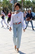 CAMILA CABELLO Out and About in Barcelona 10/11/2017