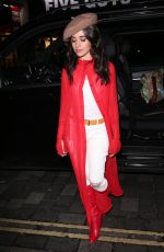 CAMILA CABELLO Out and About in London 10/18/2017