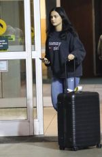 CAMILA MENDES Arrives in Vancouver to Film Riverdale 10/01/2017