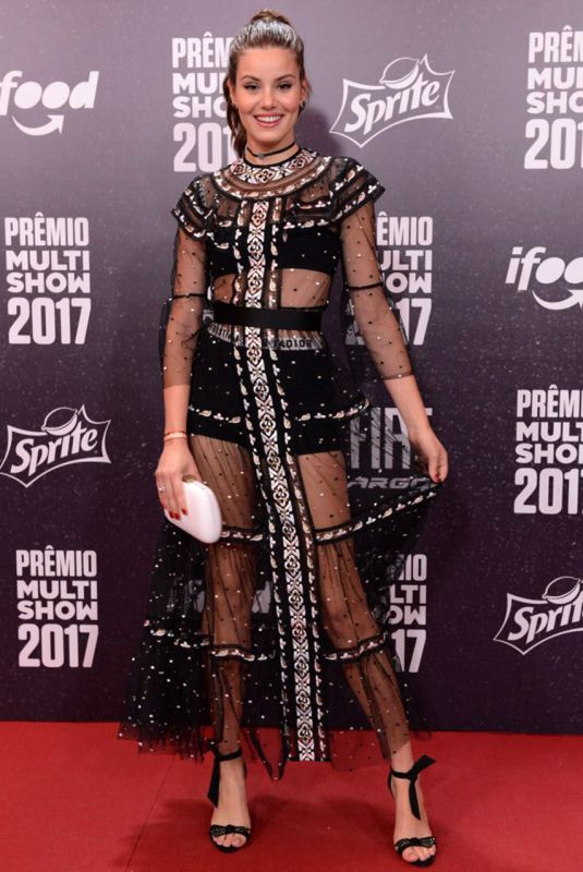 CAMILA QUIEROZ at Multishow Awards for Brazilian Music in Rio De Janeiro 10/24/2017