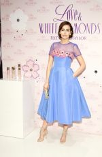 CAMILLA BELLE at Love & White Diamonds Fragrance Launch at Academy Mansion in New York 10/17/2017