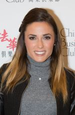 CAPUCINE ANAV at Chinese Business Club France-China Official Lunch in Paris 10/11/2017