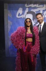 CARDI B Performs at Jimmy Kimmel Live 10/18/2017