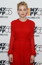 CAREY MULLIGAN at Mudbound Premiere at 55th New York Film Festival 10/12/2017