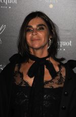 CARINE ROITFELD at Veuve Clicquot Widow Series VIP Launch Party in London 10/19/2017