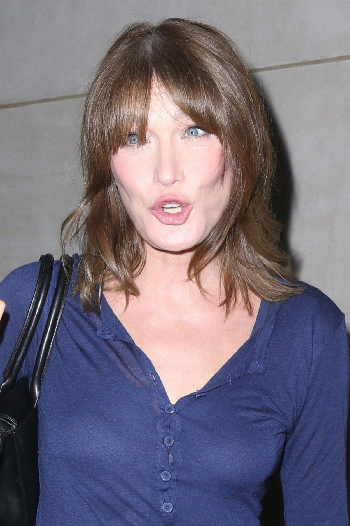 Carla bruni arrives at today show in new york 10 10 2017 for Bruni arredamento
