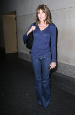 CARLA BRUNI Arrives at Today Show in New York 10/10/2017