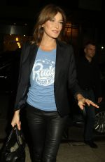 CARLA BRUNI Arrives at Watch What Happens Live with Andy Cohen in New York 10/10/2017