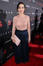 CARLOTTA MONTANARI at Jigsaw Premiere in Los Angeles 10/25/2017