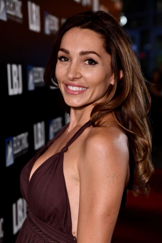 CARLOTTA MONTANARI at LBJ Premiere in Los Angeles 10/24/2017
