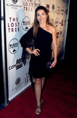 CARLOTTA MONTANARI at The Lost Tree Premiere in Los Angeles 10/09/2017
