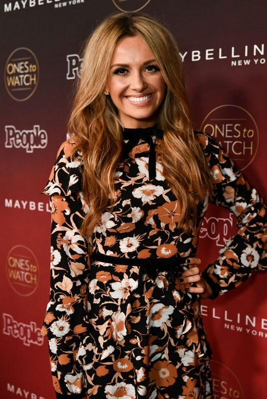 CARLY PEARCE at People's Ones to Watch Party in Los Angeles 10/04/2017