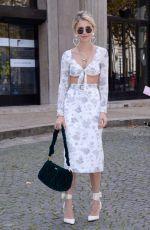 CAROLINE DAUR at Miu Miu Fashion Show in Paris 10/03/2017