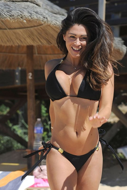 CASEY BATCHELOR in Bikini at a Beach in Cyprus 10/17/2017