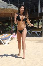 CASEY BATCHELOR in Bikini at a Beach in Cyprus 10/17/2017